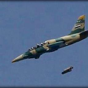 غارات للطيران السوري على معبر الزمراني فجرا