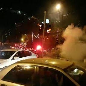 القوات الإسرائيلية تعتدي على المصلين عند باب الأسباط