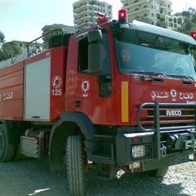 اصابة عنصرين من الدفاع  المدني.. في عكار