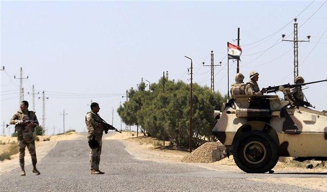 """مقتل 11 من """"العناصر الإرهابية"""" في سيناء"""
