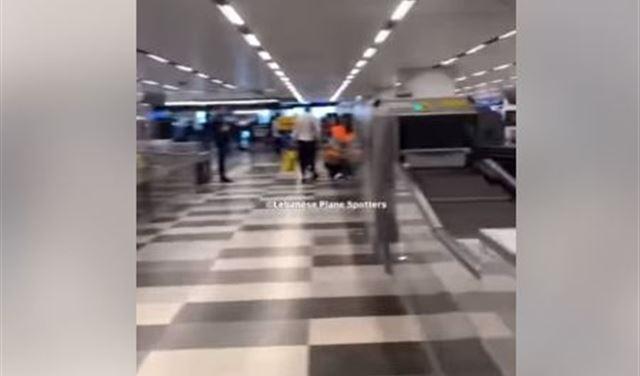 """بالفيديو: خبر """"عاجل وسارّ"""" للمغادرين عبر مطار بيروت"""
