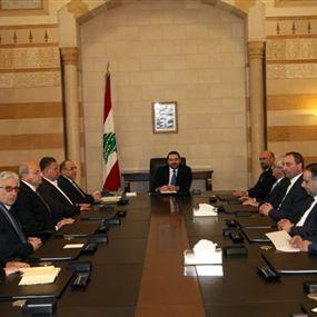 الحريري: ندعم القضية الفلسطينية وأهمية قيام الدولة