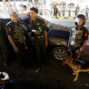 إنفجار في السفارة الأميركية بميانمار