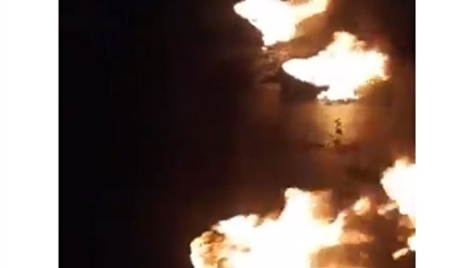 بالفيديو: محتجون قطعوا الطرقات المؤدية إلى ساحة عبد الحميد كرامي