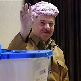 فوز كبير لحزب بارزاني في انتخابات كردستان