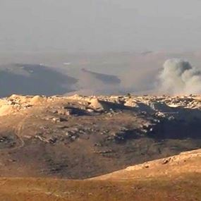 غارات سورية على جرود عرسال