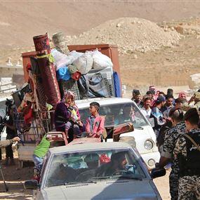 عودة 8093 لاجىء من لبنان إلى سوريا