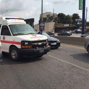 بالصورة: جريحان جراء حادث سير في الفيدار