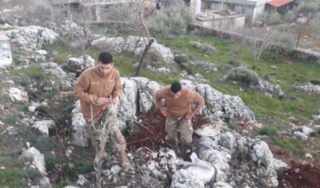 تفجير قنبلة عنقودية من مخلفات الجيش الإسرائيلي