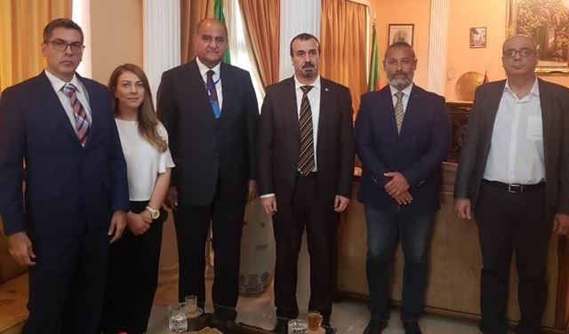 الخطيب وسفير الجزائر... والعلاقات بين البلدين