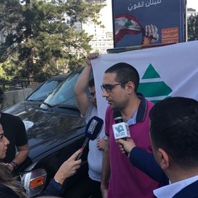 الحداد بعد الافراج عنه: لم أرتكب جرمًا بتوزيع المناشير