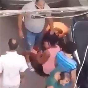 بالفيديو: تفاصيل الاعتداء على فتاتين كينيّتَين في برج حمّود
