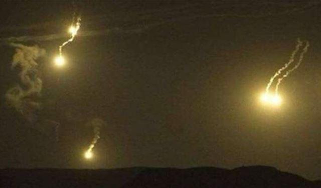 اسرائيل تطلق قنابل مضيئة في خراج شبعا
