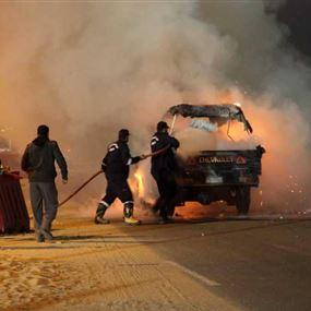 """بالصور: إنفجار وسط القاهرة خلال ملاحقة """"إرهابي"""""""