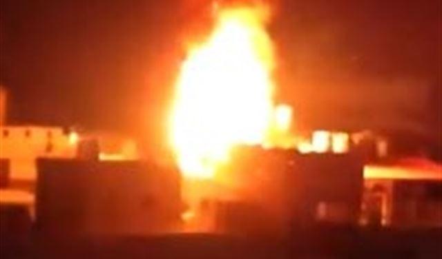بالفيديو: حريق في مبنى سكني في سليم سلام