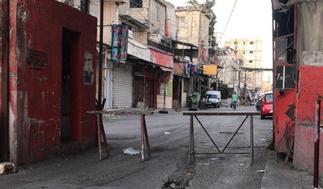إضراب عام وإقفال مداخل مخيم عين الحلوة