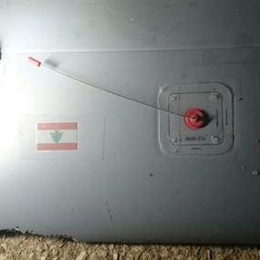 بالصور.. سقوط طائرة استطلاع لبنانية في بلدة ايعات البقاعية