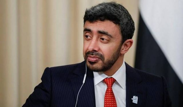 بعد أردوغان ... وزير خارجية الإمارات الى الجزائر الاثنين