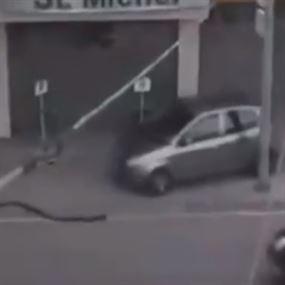 بالفيديو: اختصار المسافة كان ممكن يختصر حياة انسان