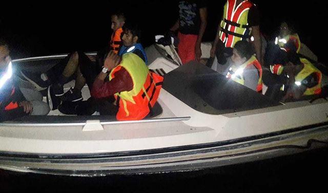 إحباط عملية تهريب أشخاص عبر البحر!