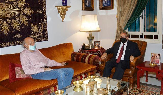 السفيرُ الأردني بضيافة جنبلاط