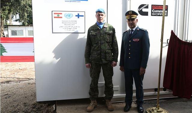 هبة فنلندية الى الجيش