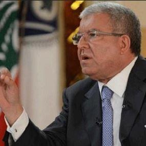 المشنوق: كلام نصرالله يؤشر على أن المعركة تبدأ من بيروت