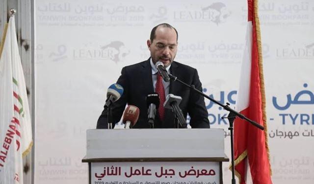 مراد: للانفتاح  على سوريا تسهيلا لعبور الصادرات اللبنانية