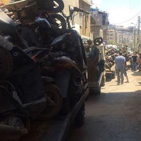 بالصورة: قتيل بحادث عمل في بشامون