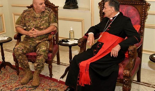 لقاءٌ بين الراعي وقائد الجيش