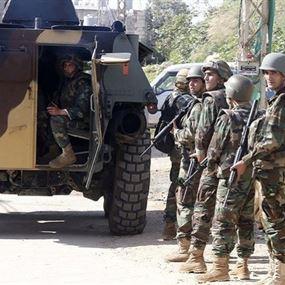 الجيش يتشدد في البقاع ولن يتهاون مع أحد