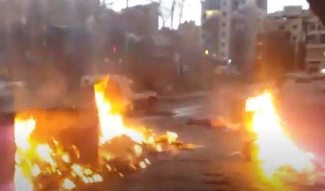 بالفيديو: قطع طريق فرن الشباك