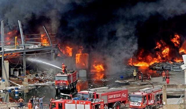 حريقُ المرفأ... أبو سمرا يُتابع التحقيقات