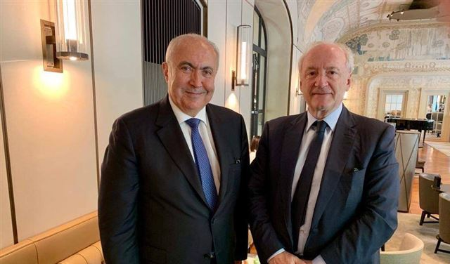 """مخزومي يلتقي وزير خارجية فرنسا ومناقشة لمتطلبات """"سيدر"""""""