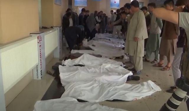 انفجار كبير قرب مدرسة في أفغانستان...