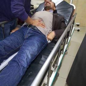 بالفيديو: مناصرو حزب الله يعتدون بالضرب على المرشح علي الأمين