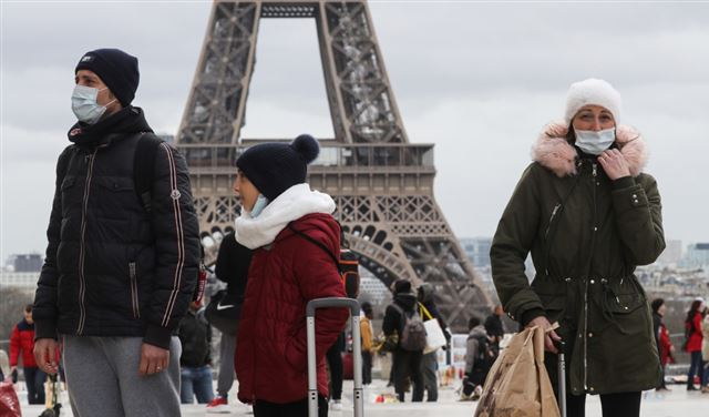 "17 مليون فرنسي قد يصابون بـ""كورونا"""
