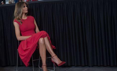 ميلانيا ترامب تقيم في البيت الأبيض لأول مرة