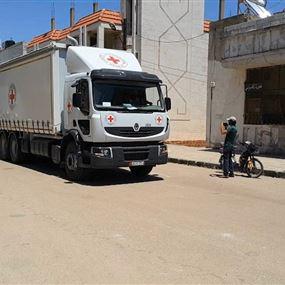 نهب قافلة مساعدات للأمم المتحدة في سوريا