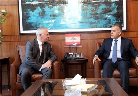 إبراهيم إلتقى سليلاتي وشهيب وسفير أرمينيا