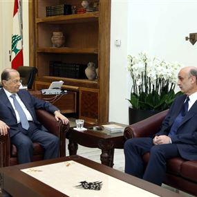 مضمون لقاء عون وجعجع في بعبدا