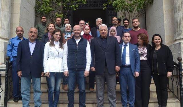جريصاتي اطلع على مشروع فرز النفايات في طرابلس