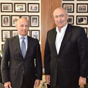 مخزومي استقبل السفير الإيطالي لفتح آفاق جديدة أمام الاقتصاد اللبناني