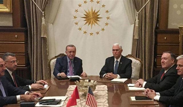 تفاصيل الاتفاق الأميركي التركي لوقف العملية في سوريا