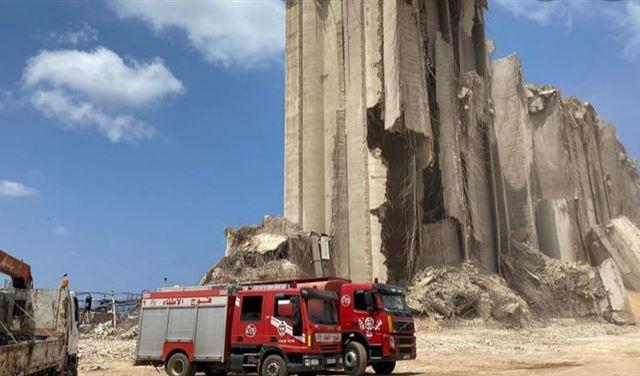 حريق بالقرب من إهراءات مرفأ بيروت !