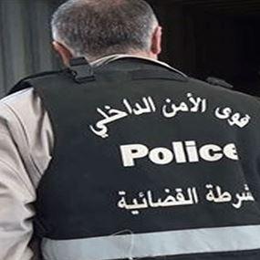 عصابة سرقة بقبضة الشرطة القضائية في حاصبيا