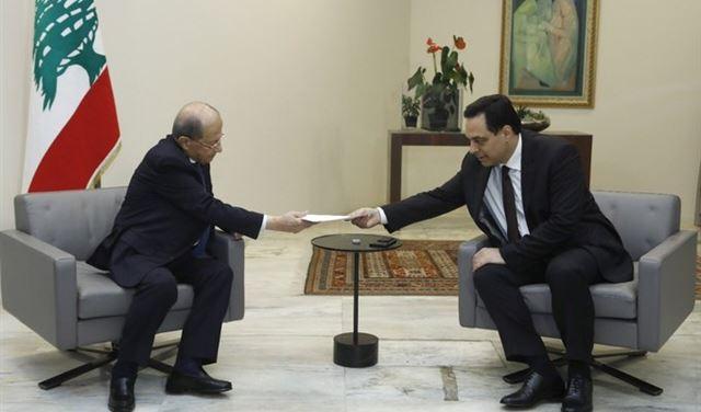 """""""عربي بوست"""" تكشف كواليس إستقالة حكومة دياب... ودور برّي"""